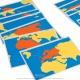 Cartes des parties du monde