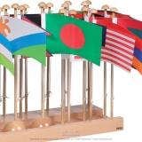 Présentoir des drapeaux Asie