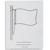 Drapeaux en papier x 500