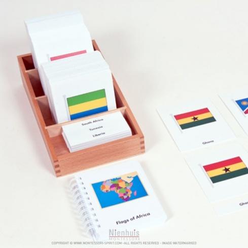 Cartes des drapeaux d'Afrique