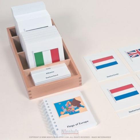 Cartes des drapeaux d'Europe