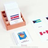 Cartes des drapeaux d'Amérique du Nord