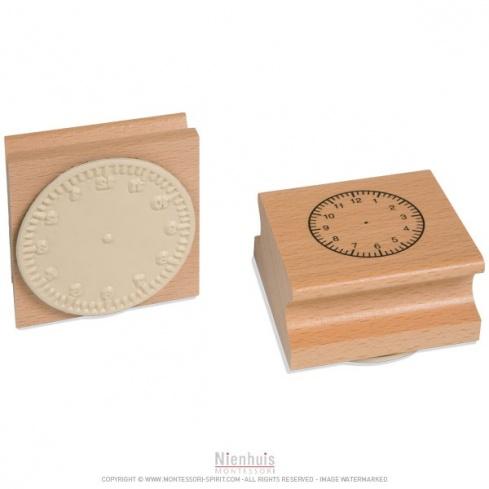 Tampon horloge 12H