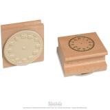 Tampon horloge chiffres romains