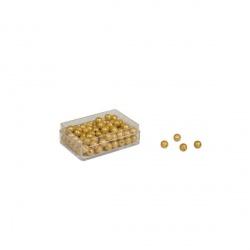 Boite de 100 perles indiv. nylon avec trou