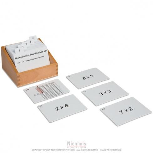 Exercices de multiplication (en anglais)