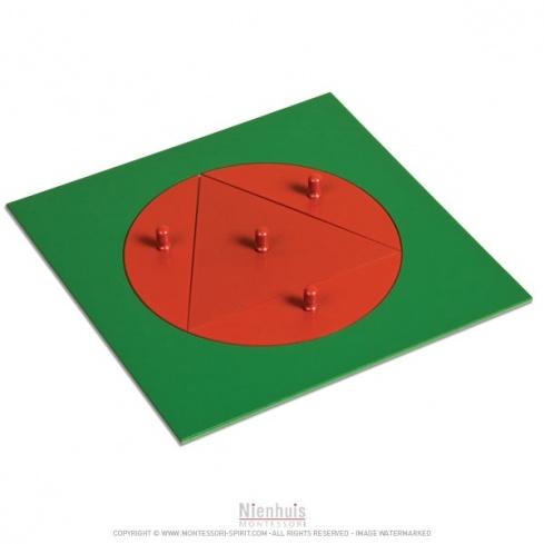 Triangle inscrit dans cercle