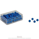 Perles bleues x100