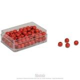 Perles rouges x100