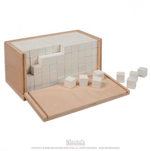Boite des volumes de 250 cubes