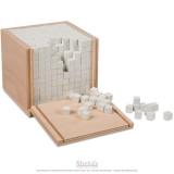 Boite des volumes de 1000 cubes