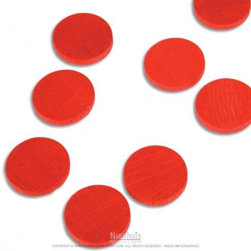 Jetons rouges x 100