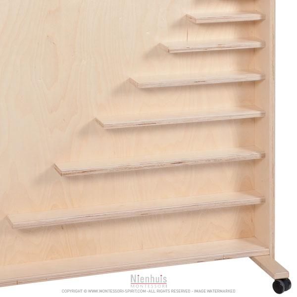 meuble support pour mat riel des perles montessori spirit. Black Bedroom Furniture Sets. Home Design Ideas