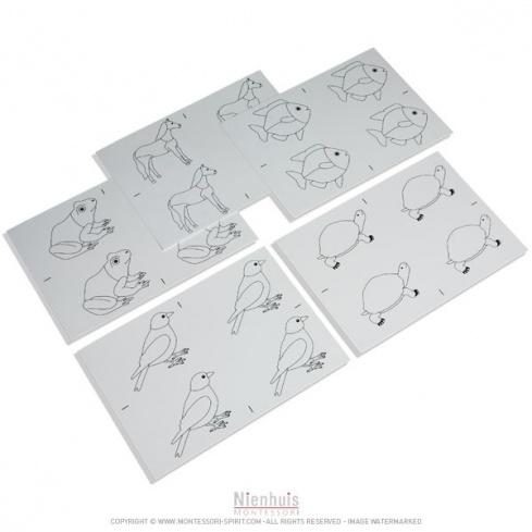 Modèles de dessin des animaux