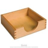 Boite pour papier 14x14 cm