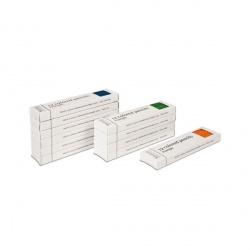 11 boites de 12 crayons à 3 côtés