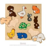 Puzzle incrustation : Animaux