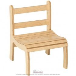 Chaise à lattes haute : 17.5cm