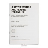A Key To Writing And Reading For English