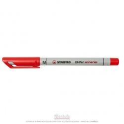 Stabilo à l'eau non-permanent : rouge 1 mm (x1)