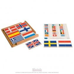 Puzzle de drapeaux Europe