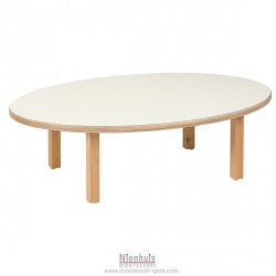 Table enfant : ovale