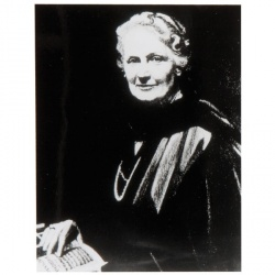 Photo Maria Montessori 10x13 cm