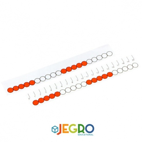 Beads ruler