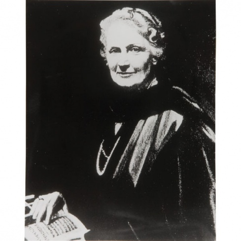 Photo Maria Montessori 20x25 cm