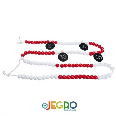 Bead string up to 100 teacher Ø 1.8cm