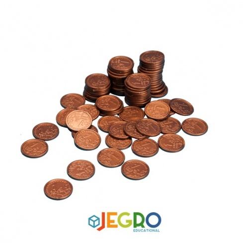 Coins 1 euro cent