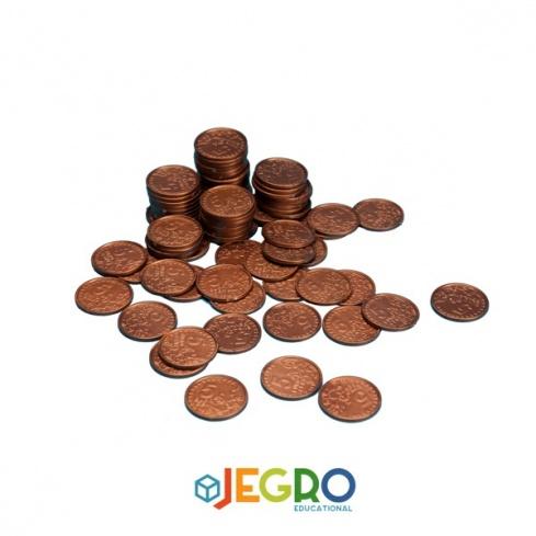 Coins 5 euro cent