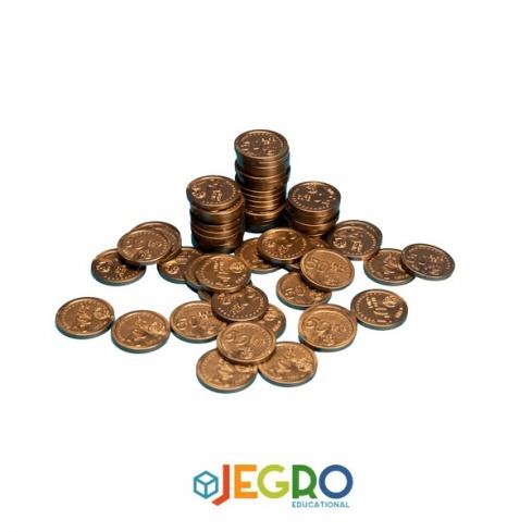 Coins 50 euro cent