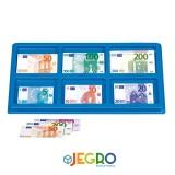 Euro box banknotes