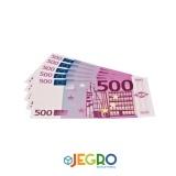Notes 500 euro