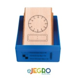 Tampon horloge digitale 12H