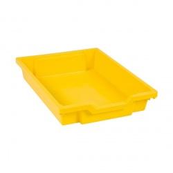 Tiroir plastique jaune(H 7cm)