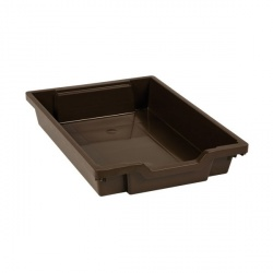 Tiroir plastique brun(H 7cm)
