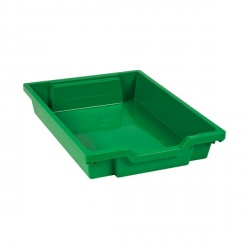 Tiroir plastique vert(H 7cm)
