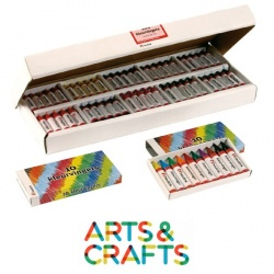 Boite de crayons de cire assortis 10 couleurs