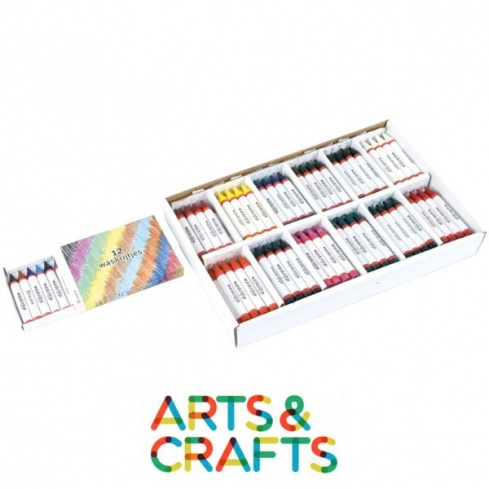 Boite 12 ou 144 crayons pastel à l'huile
