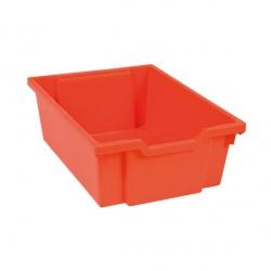 Tiroir plastique rouge(H 15cm)