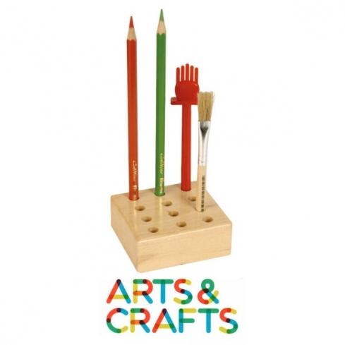 Support à crayons et pinceaux