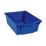 Tiroir plastique bleu(H 15cm)