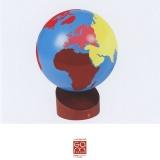 Globe coloré (Couleurs Gonzagarredi)