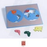 Planisphère du monde (Gonzagarredi)
