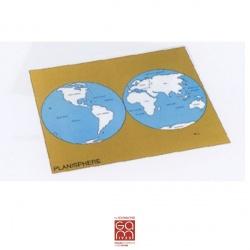 Carte de contrôle (anglais) du planisphère Gonzagarredi