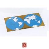 Carte de contrôle (anglais) du planisphère 1MM221BS01