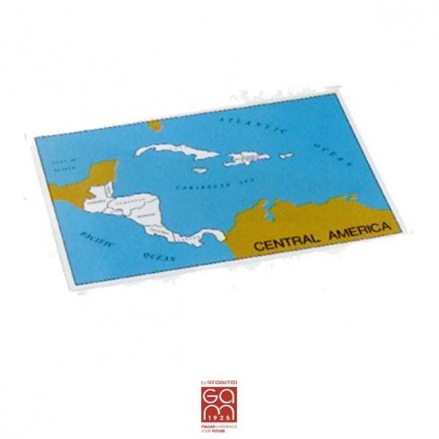 Carte de contrôle (anglais) Amérique Centrale