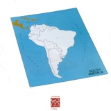 Carte de contrôle (anglais) Amérique du Sud